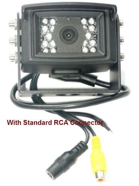 Ccd Night Vision Surface Mount Rear View Backup Camera