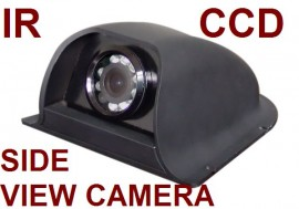 CCD SIDE VIEW CAMERAS-COLOR REVERSE/NORMAL NIGHT VISION (CW401)