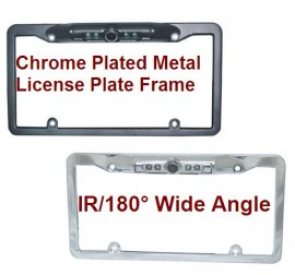 CCD LICENSE PLATE FRAME Mount Rear View Backup Camera (CW144646CI)