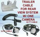 Trailer Connection Cable With 7-Contact Plug & Socket for Rear View Camera System