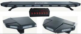 "Black Hawk 49"" Amber 88 LED Emergency Warning Beacon Roof Top Strobe Light Bar for Truck Tow Wrecker"