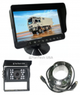 "5"" LCD Color Rear View Backup Camera System with CCD Rear View Video Camera 700 TVL 120° View"