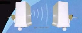 High-Powered 2.4GHz Wireless Transmitter&Receiver w/ Directional Antenna 3 Miles
