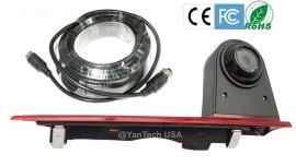 Ford Transit Custom Door 3rd Brake Light Camera CCD 700TVL 120° Rear View Backup Camera