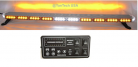 "49"" Amber Clear Super Bright 86 LEDs Light Bar Flashing Warning Tow Truck Wrecker Police Snow Plow with ALLEY & BRAKE/TURN SIGNAL/SIDE MARKER Lights"