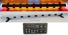 "56"" Amber LED Light Bar Flashing Warning Tow Truck Plow Wrecker Police Car Flat Bed EMS w/ ALLEY & BRAKE/TAIL/TURN SIGNAL LIGHTS"
