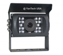 Waterproof with the rain shield CCD 700TVL Night Vision Rear View Backup Video Camera