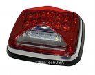LED Surface Mount SCENE Lighting - Super Bright Dual Color Red/White LEDs 12 Flash Patterns