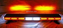 "44"" 72 LED Emergency Beacon Light Bar Warning Tow Truck Plow EMS Police Car Wrecker"