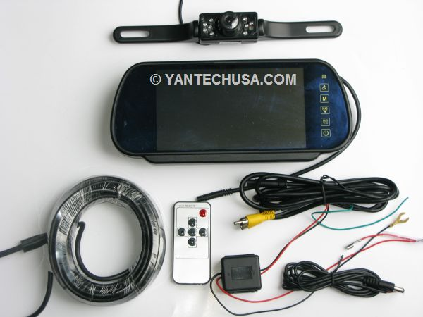 rear view lcd back