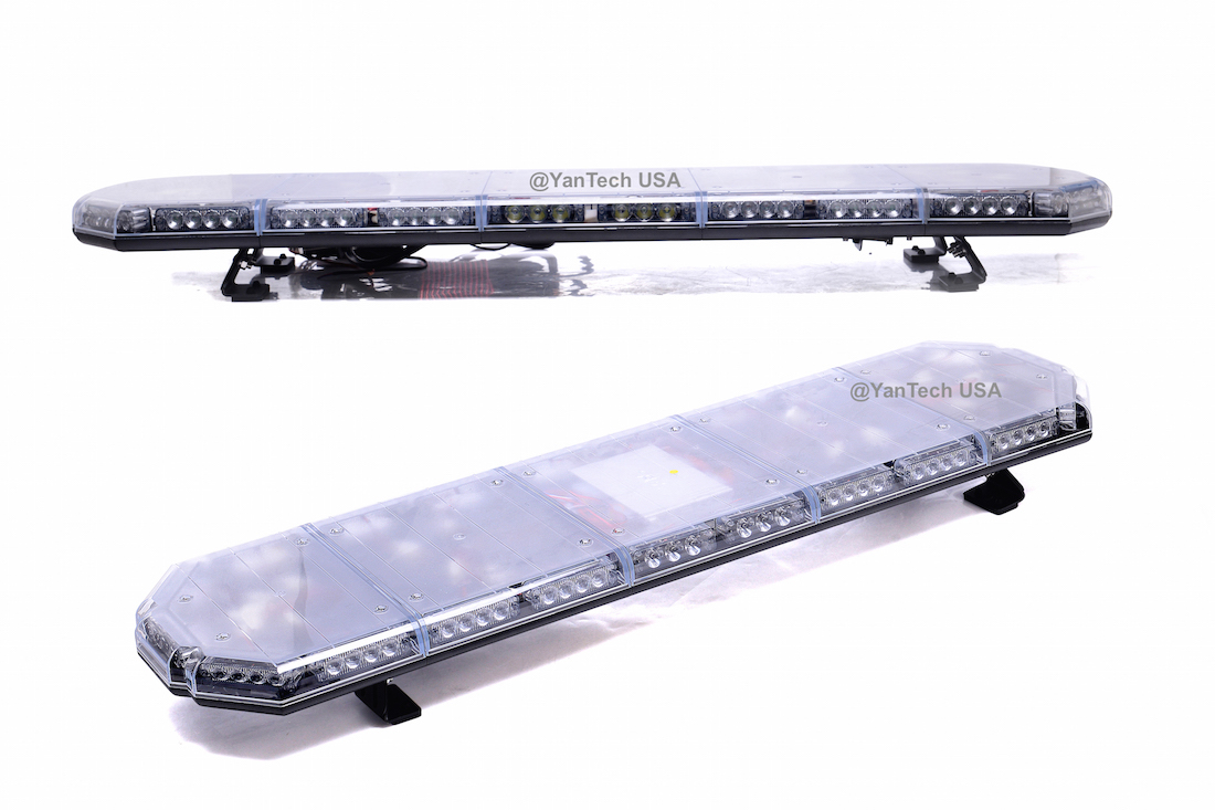 Led emergency light bar 56 104 led emergency beacon light bar warning tow truck plow ems police car wrecker aloadofball Image collections